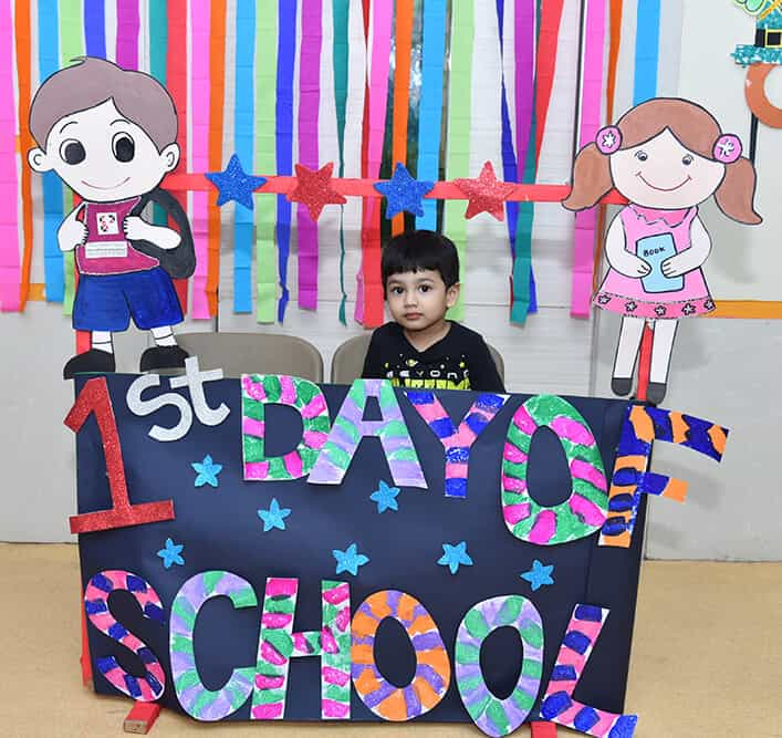 My 1st Day to school - MBIP